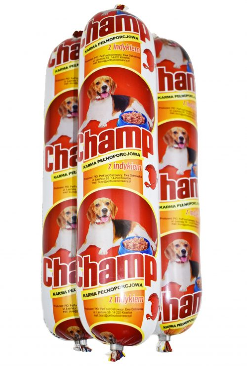 Karma z indykiem dla psa Champ z indykiem 900g