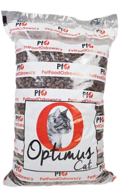 Opakowanie karmy suchej dla kotów Optimus Cat